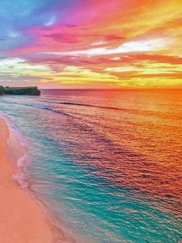 Rainbow Beach Beautiful Landscapes Nature Landscape