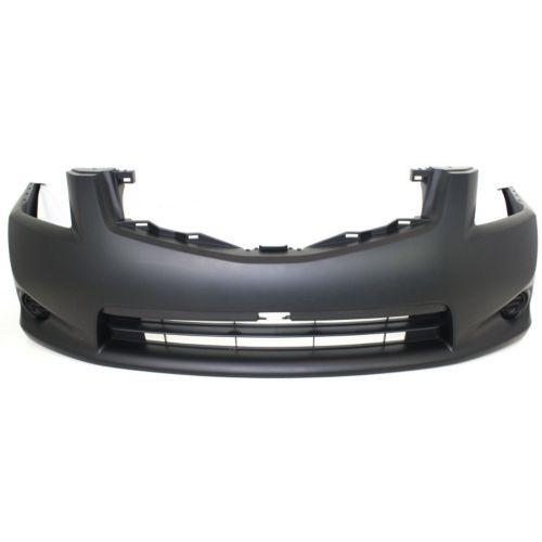 2010-2012 Nissan Sentra Front Bumper Cover, Primed, w/o Fog Lamp Hole