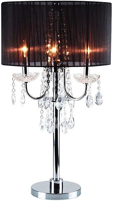 Faux Crystal Chandelier Table Lamps Dle Destek Com In 2020 Chandelier Floor Lamp Black Base Floor Lamp Chandelier Table Lamp