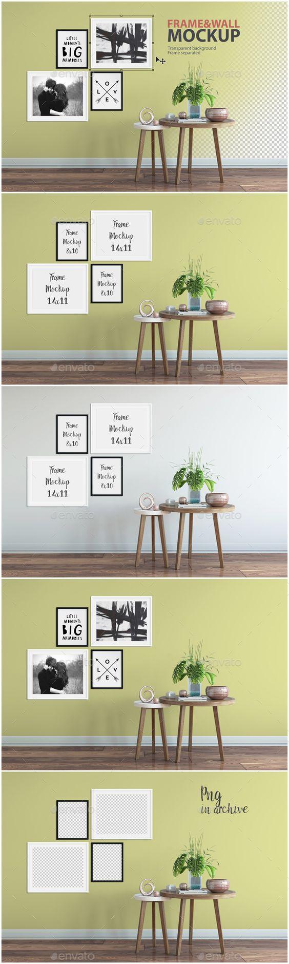 Frame & Wall Mockup 03