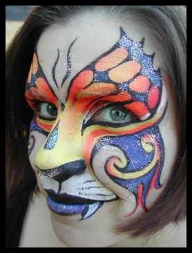 Butterfly: Brisbane, Queensland, Australia I am passionate about Face Painting and this has lead me to run my own business first in the UK and now in Australia. I