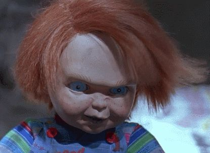 chucky child's play middle finger