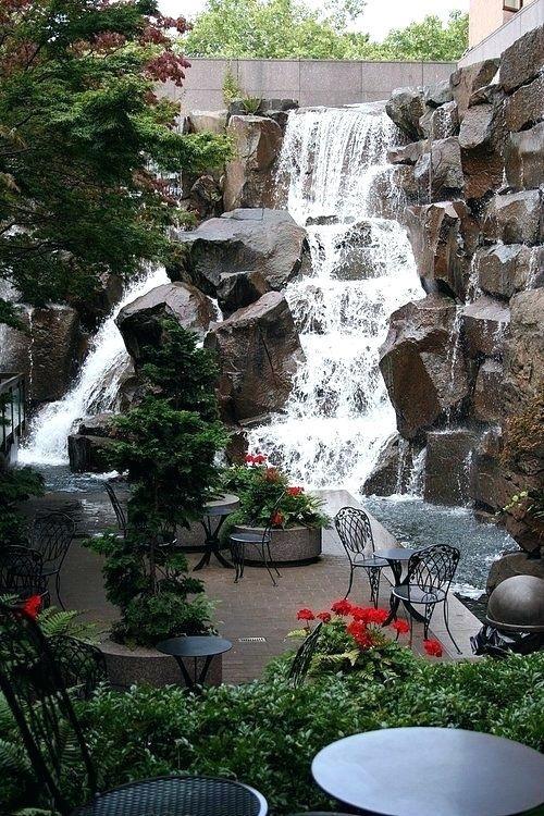 Waterfall Garden Park Design Ideas Gardenideas Gardeningtips