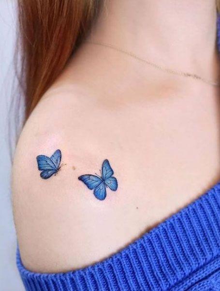 25 Beautiful Butterfly Tattoo Designs In 2020 Butterfly Tattoos For Women Tattoos For Women Tattoos