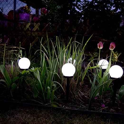 456 6er Set Led Solar Kugel Leuchte O10 Cm Aussen Lampe Garten Weg Solarleuchten Garten Solarleuch Lampen Garten Kugelleuchten Garten Solarleuchten Garten