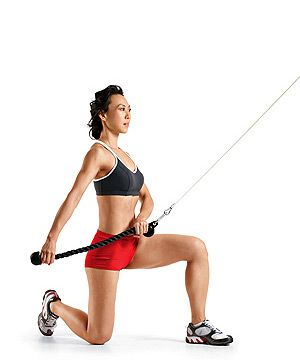 Phase Two - Workout A: Cable Kneeling  Chop