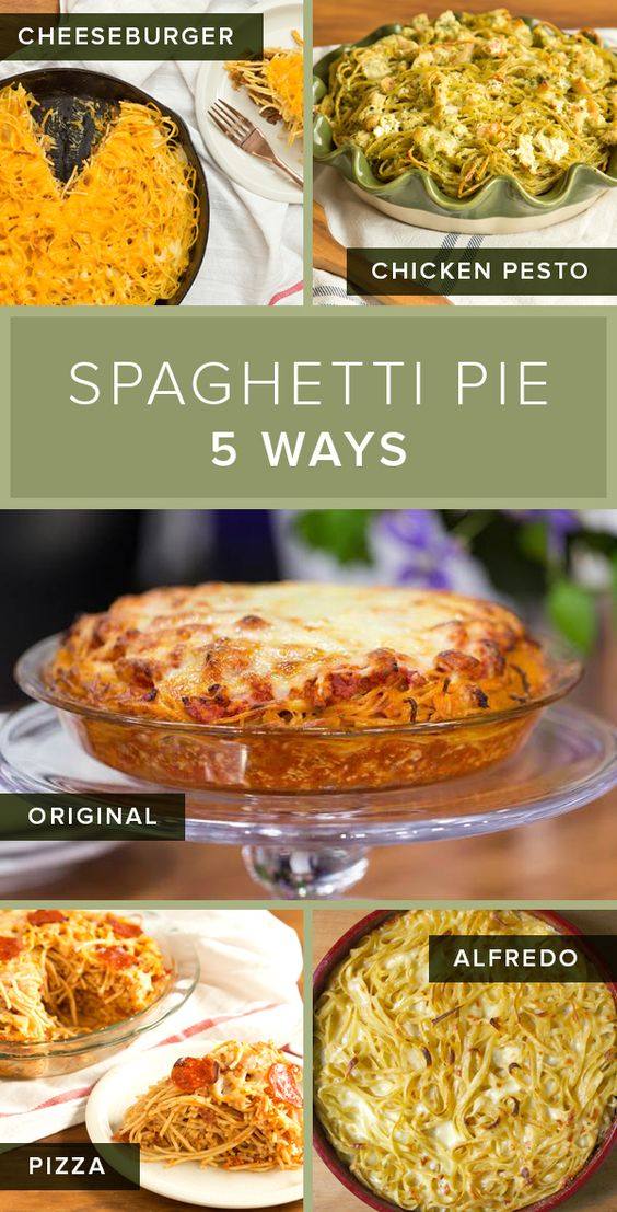 Spaghetti pie might be the ultimate comfort food for pasta lovers. Give the traditional recipe an update by making one of these pasta casseroles.