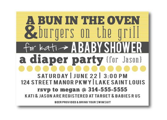 baby shower invitations bbq baby shower invites gender neutral baby