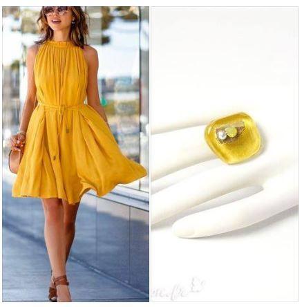 Vous aimez le jaune ?  Voici une bague fantaisie du créateur Nathalie Borderie parfaite pour cet été !  https://www.avecpassion.fr/22_nathalie-borderie-bijoux-fantaisie