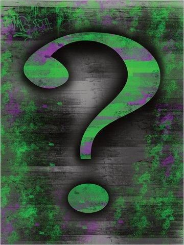 Riddler Question Mark Poster The Riddler Is One Of The Most Famous Super Villains From The Batman Comics And Movies Riddler Sick Designs This Or That Questions