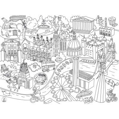 25 colouring food mats by French designer OMY, for children's parties or just for everyday. £10. www.smallfolkrun.com.