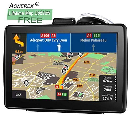 Aonerex GPS Navigation for car 7 inch Touch Screen +256MB
