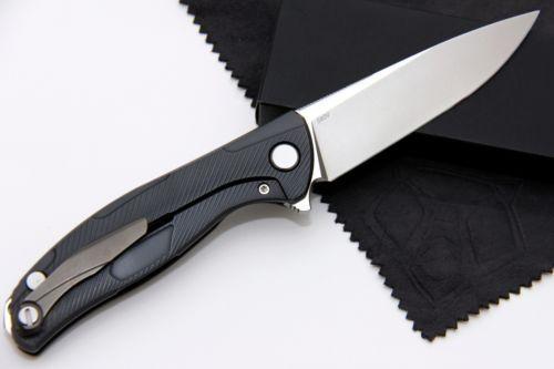 CUSTOM-Shirogorov-S90V-Hati-Sheashell-folding-knife-Custom-Division-DRRBS-Gift