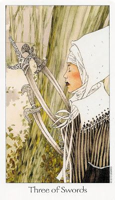 Tarot Notes: Week at a Glance: 3 of Swords