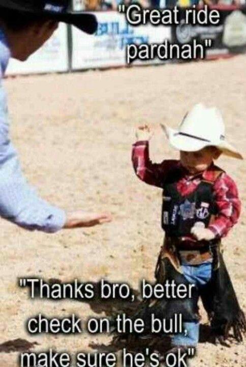 Ya Bro!! Tough little dude