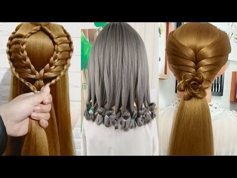 Top 20 Easy Cute 1 Minute Hairstyles For Girls For Long Amazing Bridal Hairstyles Tutorial Youtube Hair Styles Braided Hairstyles Hair Beauty