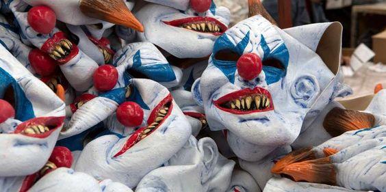 Fake clown attacks put French police on alert and trigger vigilante response