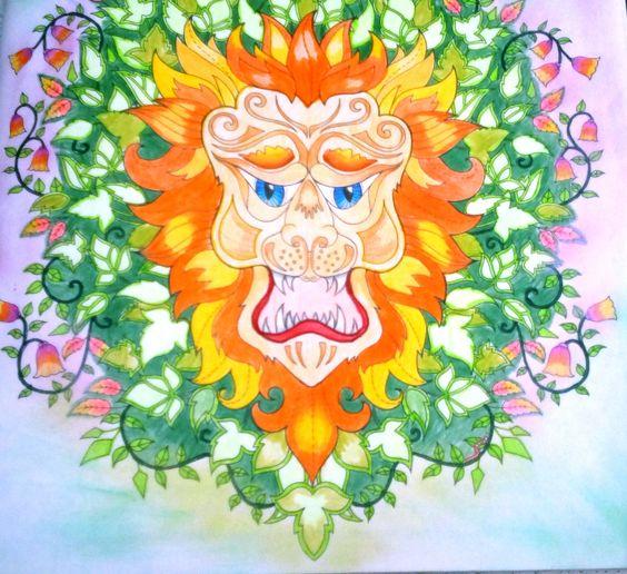 Floresta encantada Leão