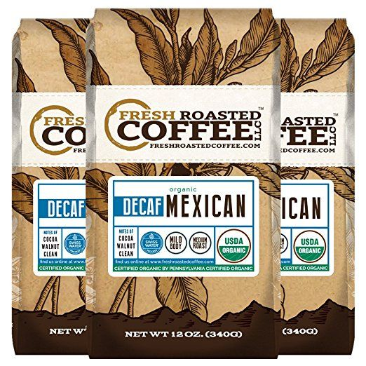 Amazon Com Organic Mexican Swiss Water Decaf Coffee Whole Bean Bag Swiss Water Processed Fresh Roasted Coffee Roasting Fresh Roasted Coffee Coffee Creamer