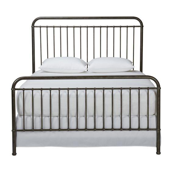 Ethan allen beds and cas on pinterest - Ethan allen metal bed ...