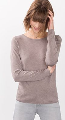 Basic Feinstrick-Sweater