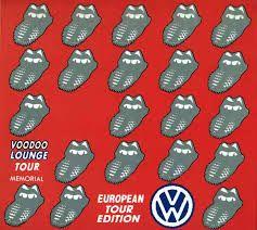 1995 The Rolling Stones - Voodoo Lounge Tour Memorial - European Tour Edition 3CD Box