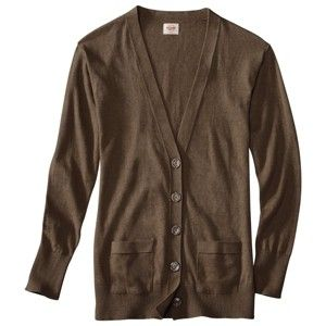 Target Mobile Site - Mossimo Supply Co. Juniors Long Sleeve Cardigan - Assorted Colors