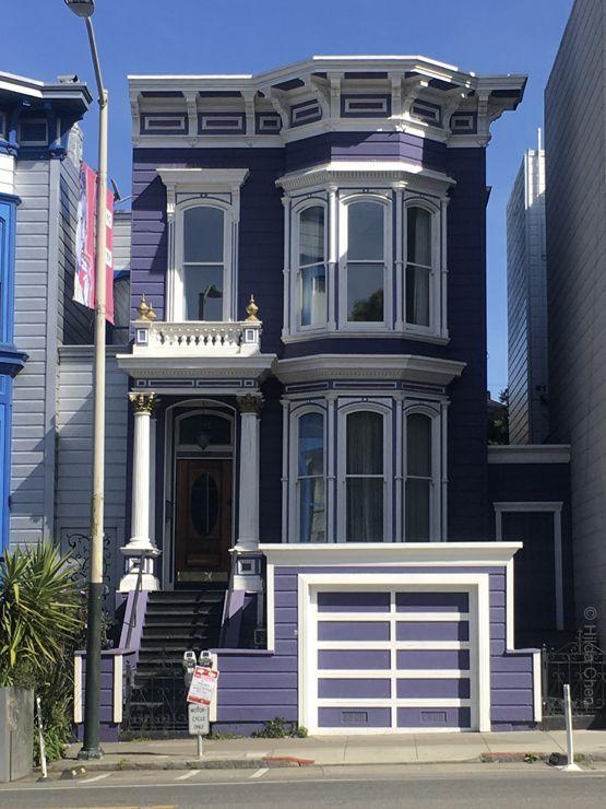 Victorian On Valencia Street San Francisco Ca San Francisco