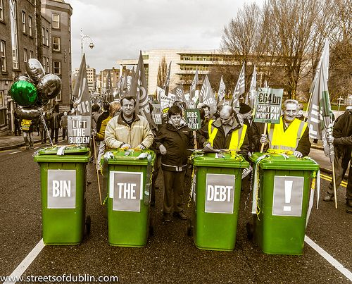 Protest: Throughout Ireland 110,000 Protested Against Bank Debt [The Streets Of Ireland]