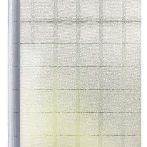 窓 めかくしシート 遮光 断熱 窓用フィルム すりガラスシート Uvカット リメイク 水で貼る 剥がせる ガラスシート 目隠し 日よけ 防水 耐熱 飛散防止 曇りガラス 網入りガラス適用 格子 44 5cmx200cm シート 断熱 目隠し