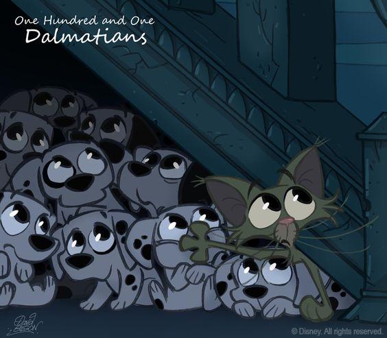 101 Dalmatians :D <3