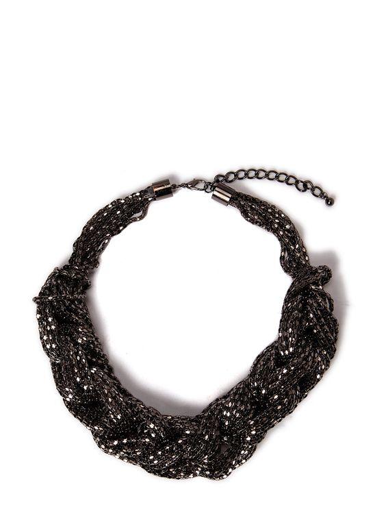 Neo Noir - Ditte Statment Necklace Wild-Swans.com