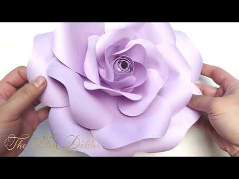 These Tutorials Are For Our Specially Designed Paper Flower