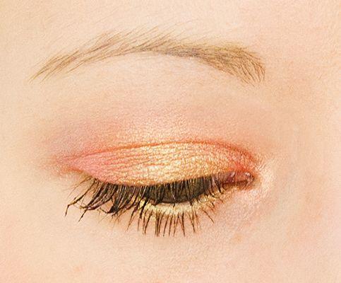 Pêche, Corail et Or : le maquillage attrape-soleil - Mamzelle Boom