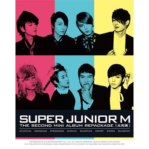 SUPER JUNIOR M – PERFECTION – The 2nd Repackage Mini Album