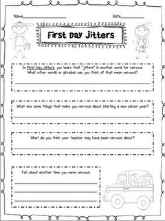 Free Printable for First Day Jitters!