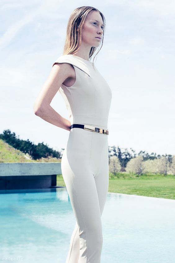 Minimalist, futuristic fashion Eclectic Society fashion editorial by Gonçalo M Catarino at Hotel Rio do Pradp