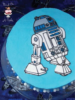 R2D2 cake for the boys