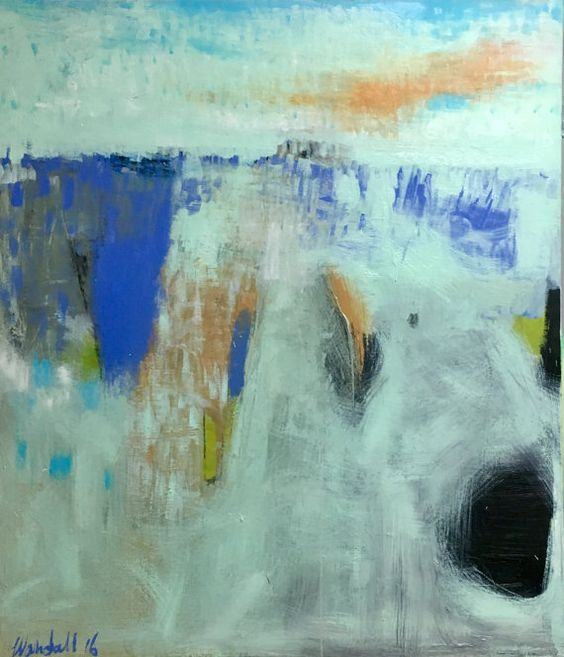 and so now you know 20x20 wendy McWilliams 2015 Paintings - küchenbilder auf leinwand
