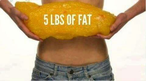 5 lbs of FAT