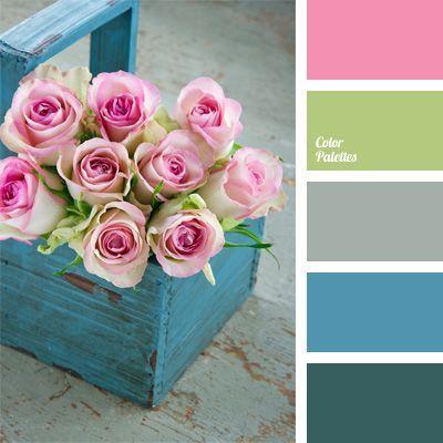 top notch girl bedroom decoration ideas using purple rose | Color Palette # 35 - Tea rose pink, lime green, grey ...
