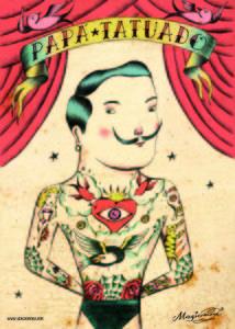 Image of POSTER PAPA TATUADO