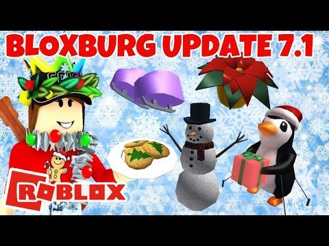 When Will The Bloxburg Christmas Update Come Out 2020 ROBLOX | Bloxburg Christmas Update 7.1 | SNOWBALL FIGHTS/ICE
