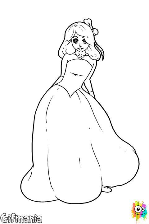 princesa delicada #princesa #dibujo #fantasia