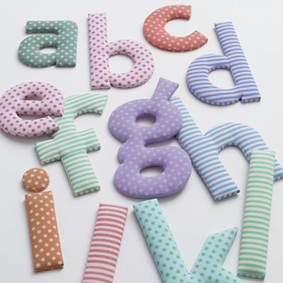 fabric nursery letters