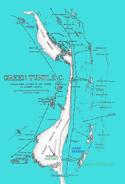 how to get to green turtle cay