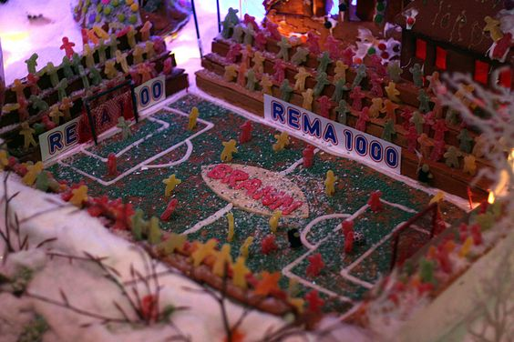 gingerbread house soccer football