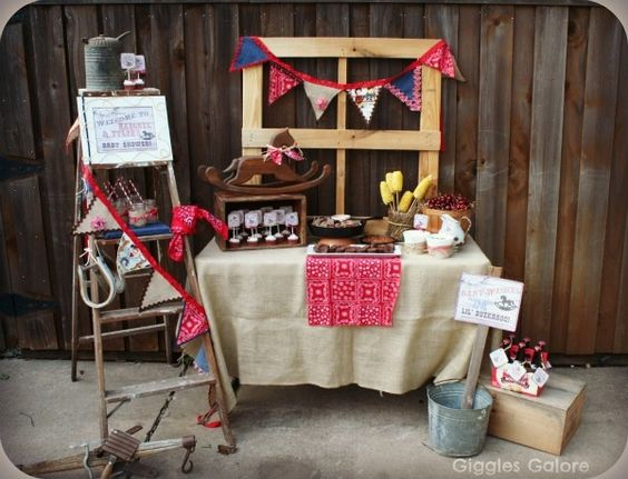 """Photo 1 of 14: Western/Cowboy / Baby Shower/Sip & See """"Lil' Buckaroo Baby Shower"""" 
