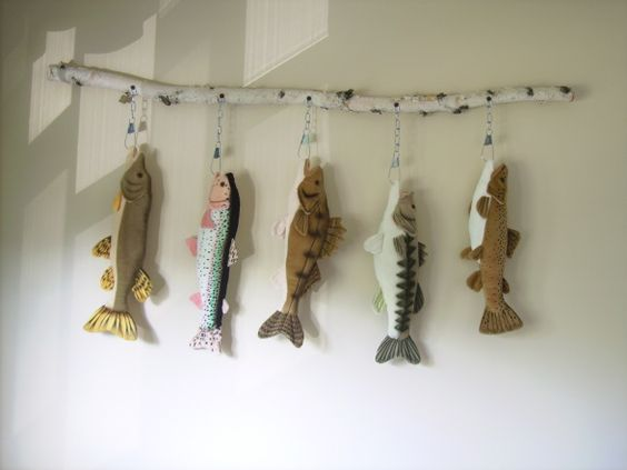 Want These Plush Lake Fish Just Found Them On Amazon Yeah Woodland Nursery Pinterest