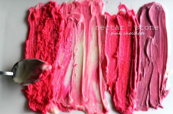 pink chocolate // nectar & stone
